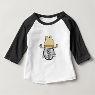 wild west cowboy art baby T-Shirt