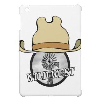 wild west cowboy art iPad mini covers