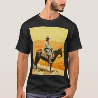 Wild West Pop Art T-shirt