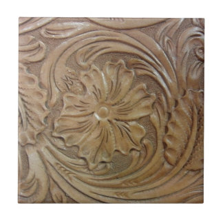 Wild West Rose Tile
