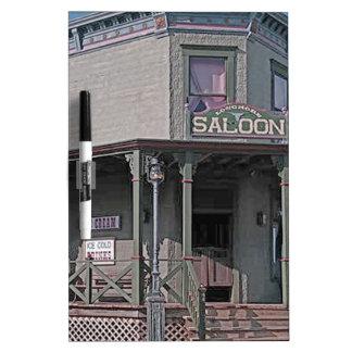 Wild West Saloon Dry Erase Board