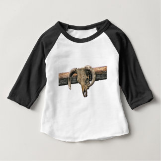 Wild West Skull Baby T-Shirt