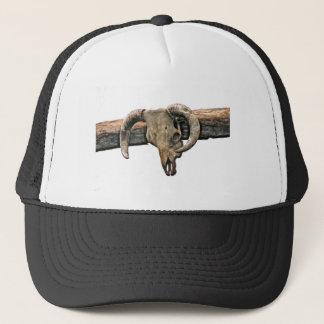 Wild West Skull Trucker Hat