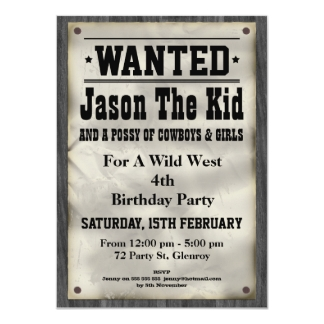 Wanted poster party invitation ideas Avengers age of ultron