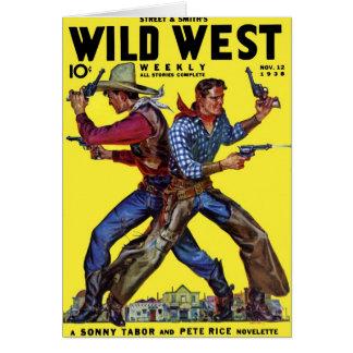 Wild West Weekly Nov. 1938  Card
