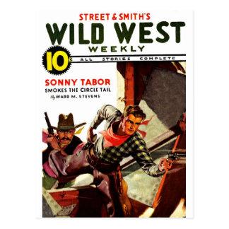 Wild West Weekly - Sonny Tabor Postcard
