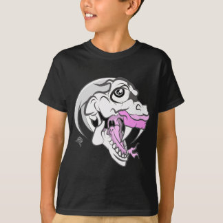 Wild White Dinosaur T-Shirt