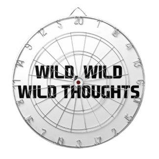 Wild Wild Thoughts Dartboard