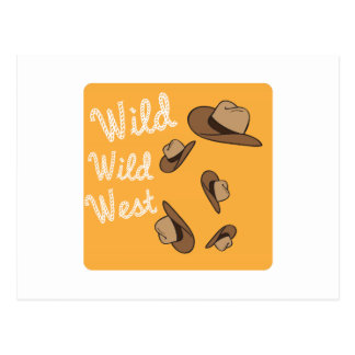 Wild Wild West Postcards