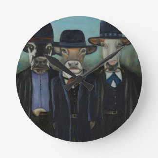 Wild Wild West Wallclock