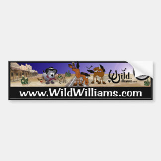 Wild Williams Bumper Sticker