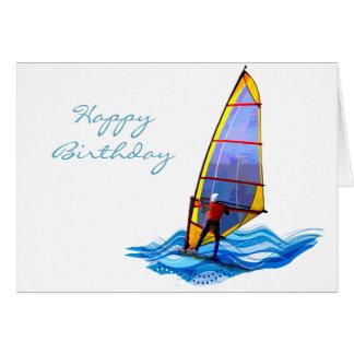 Wild Windsurfer Card
