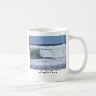 WILD WINTER WAVE, Hampton Beach Coffee Mug