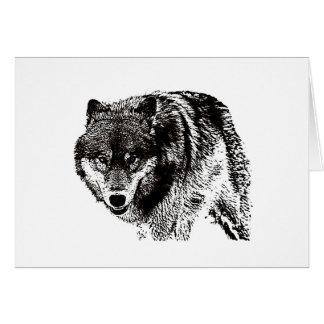 Wild Wolf Card