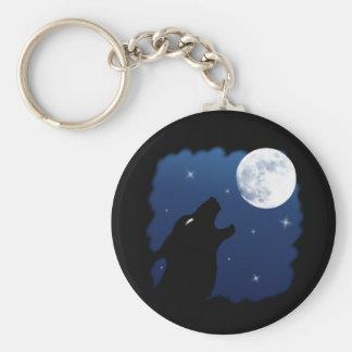 Wild Wolf Keychain