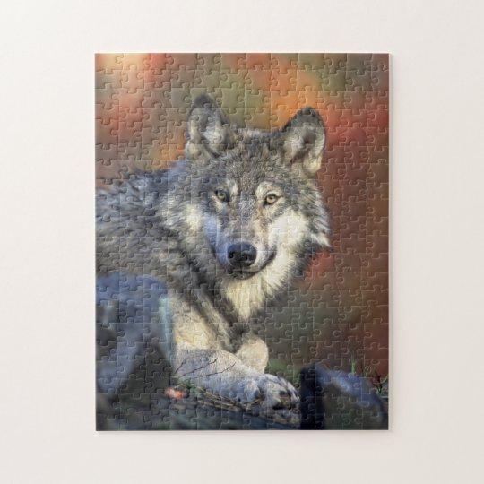 wild wolf puzzle
