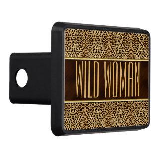Wild Woman Cheetah Print Trailer Hitch Cover