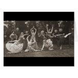 Wild Women Dance 1924 Big Greeting Card