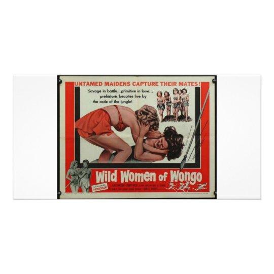 Wild Women Of Wongo Customized Photo Card