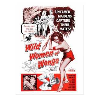 """Wild Women of Wongo"" Postcard"