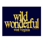 Wild Wonderful West Virginia-Yellow Post Cards