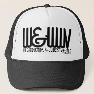 Wild&WonderfulWestVirginia-Solid Trucker Hat