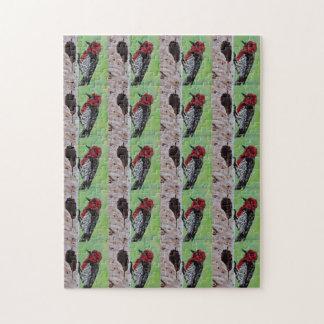 Wild Woodpeckers Puzzle