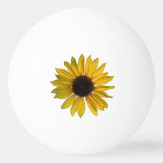 Wild Yellow Sunflower Ping-Pong Ball
