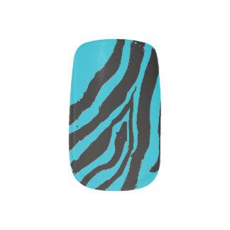Wild Zebra Stripe Minx Nail Polish Strips Minx Nail Art