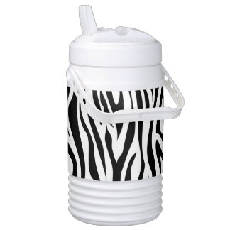 Wild Zebra Stripes Drinks Cooler