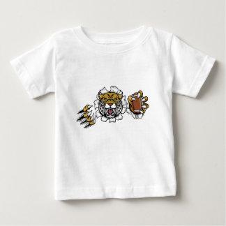 Wildcat American Football Mascot Baby T-Shirt