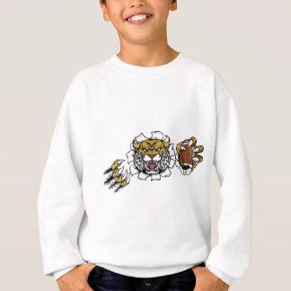 Wildcat American Football Mascot Sweatshirt