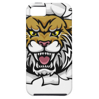 Wildcat Basketball Ball Mascot iPhone 5 Cases