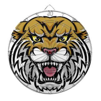 Wildcat Bobcat Mascot Dartboard