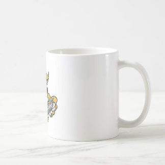 Wildcat Bobcat Player Gamer Mascot Coffee Mug