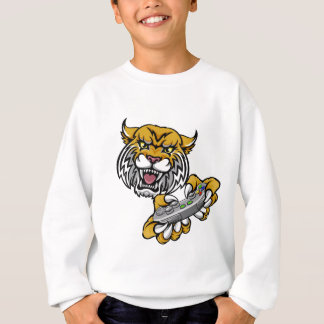 Wildcat Bobcat Player Gamer Mascot Sweatshirt