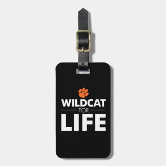 Wildcat for Life Luggage Tag