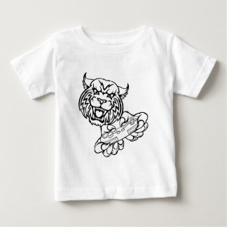 Wildcat Gamer Mascot Baby T-Shirt
