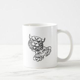 Wildcat Gamer Mascot Coffee Mug