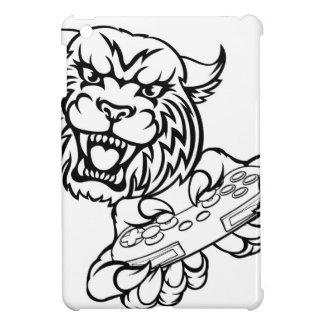 Wildcat Gamer Mascot iPad Mini Cover
