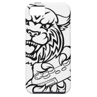 Wildcat Gamer Mascot iPhone 5 Covers