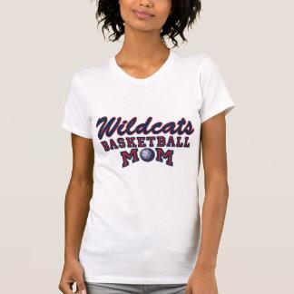 Wildcats Basketball Mom T-Shirt
