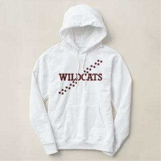 Wildcats paw print hoodie
