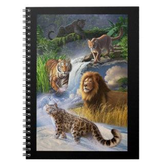 Wildcats Spiral Note Book