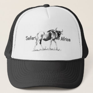 Wildebeest Trek Africa Safari Cap