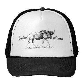 Wildebeest Trek Africa Safari Cap Trucker Hat