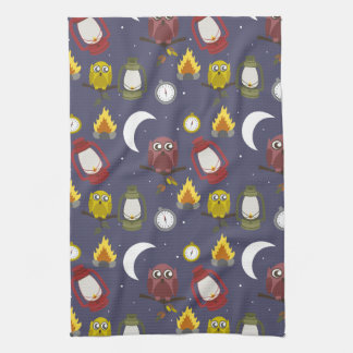 Wilderness Camping Theme Kitchen Towel