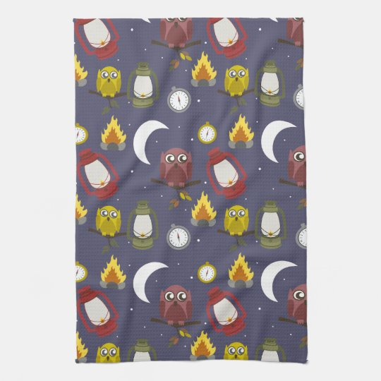 Wilderness Camping Theme Towels