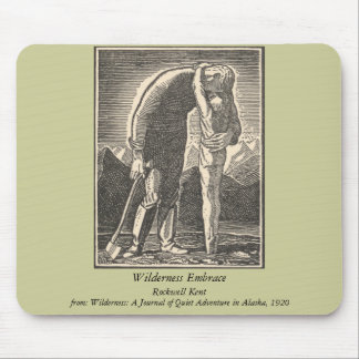 Wilderness Embrace Mouse Pad