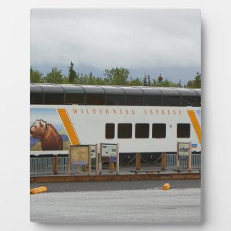 Wilderness Express, Denali, Alaska Plaque